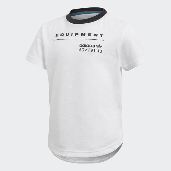 T-shirt EQT Long Bianco CD8424
