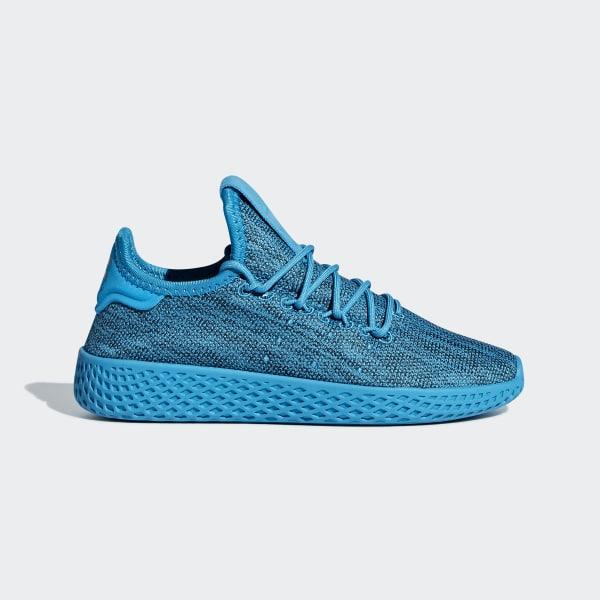 Pharrell Williams Tennis HU Schuh blau B41933