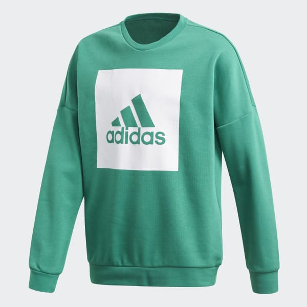 Essentials Big Logo Sweatshirt Green CF6529
