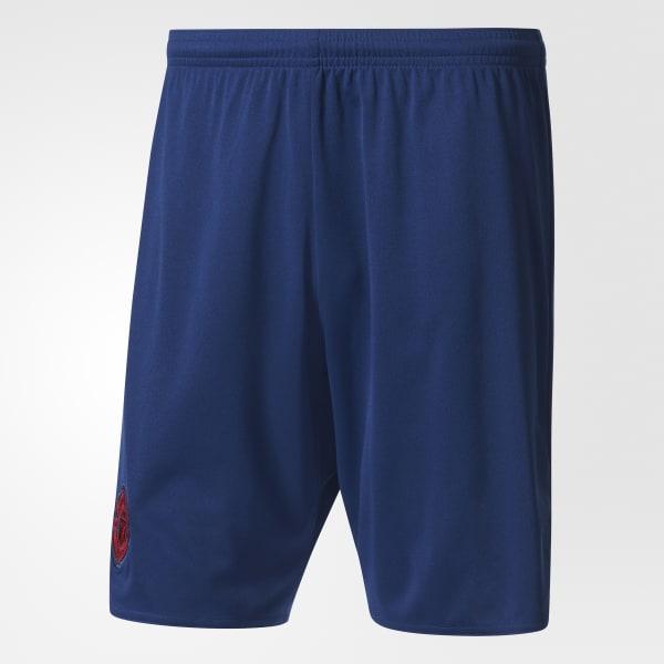 Manchester United FC Away Shorts Blue B10518