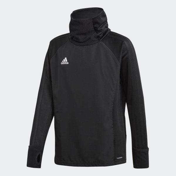 Sudadera Condivo 18 Player Focus Warm Negro CF4349