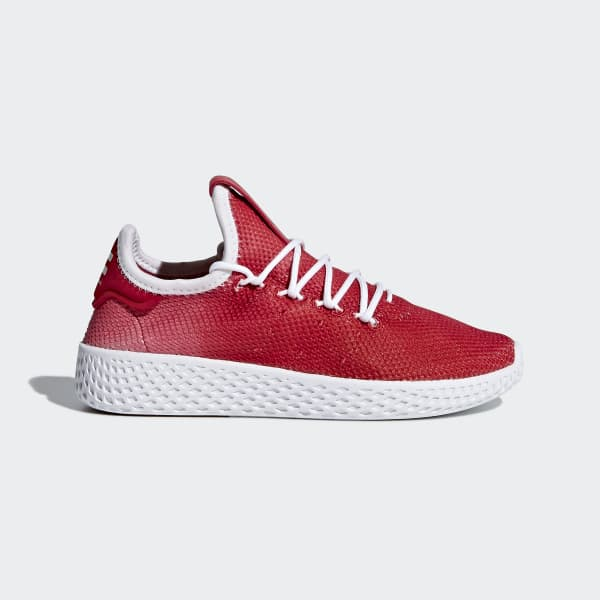 Scarpe Pharrell Williams Tennis Hu Rosso BB6838