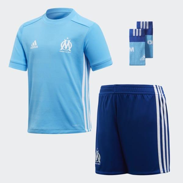 Mini Kit Away Olympique de Marseille Blu BK5399