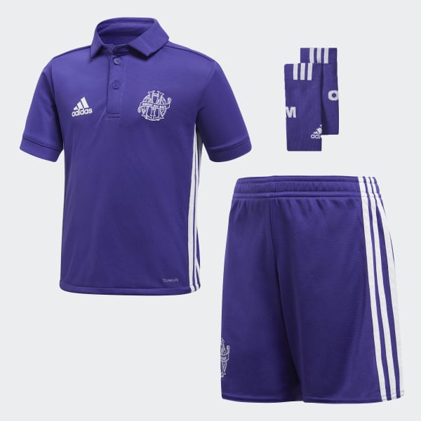 Mini Kit Third Olympique de Marseille Viola BK5430