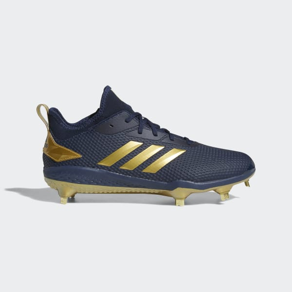 Adizero Afterburner V Cleats Blue CG5219