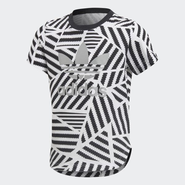 T-shirt GRPHC Long blanc CD8416