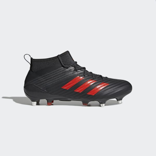 Predator Flare Soft Ground Boots Black CM7457