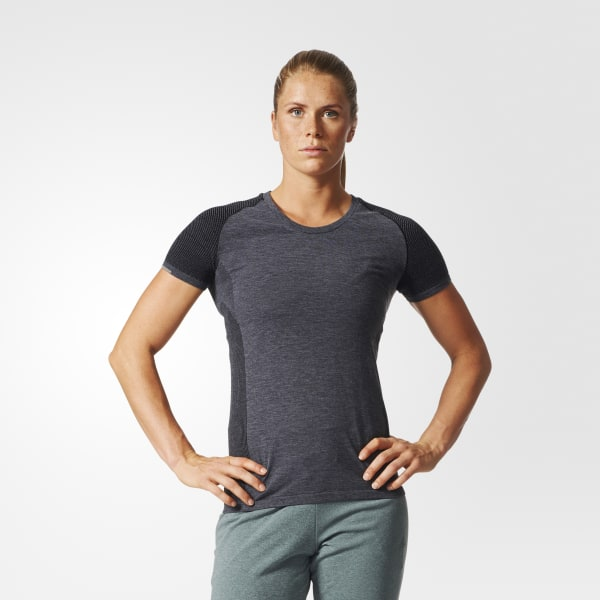 Primeknit Wool T-Shirt grau AZ2871