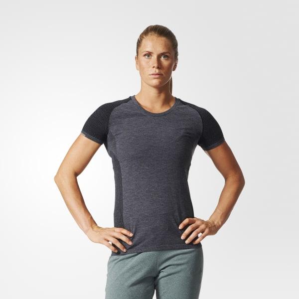 T-shirt Primeknit Wool Grigio AZ2871