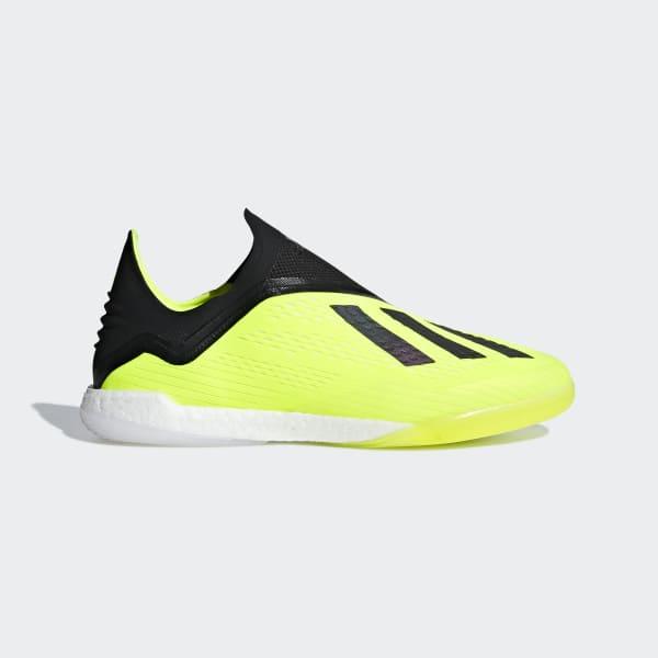 X Tango 18+ Indoor Shoes Yellow DB2268