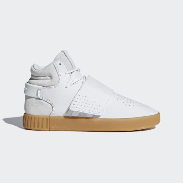 Chaussure Tubular Invader Strap blanc BY3629