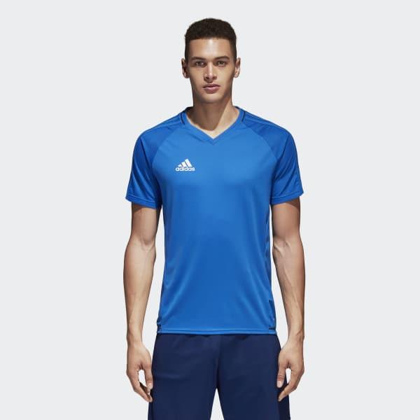 Tiro17 Training Voetbalshirt blauw BQ2796