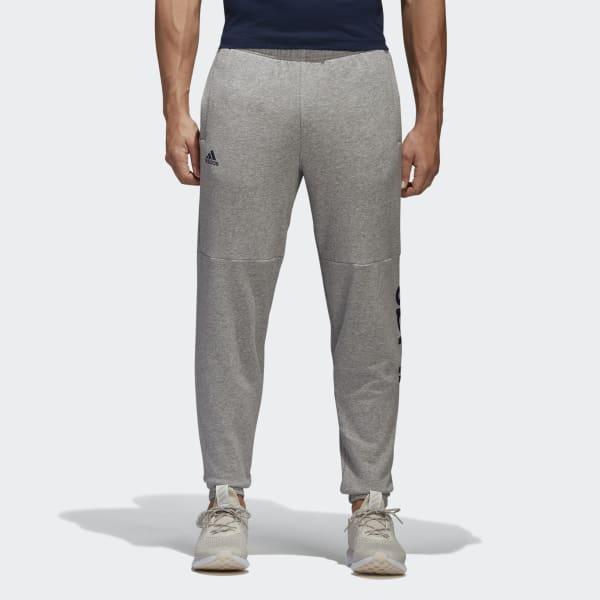 Essentials Linear Logo Pants Grey BQ9092