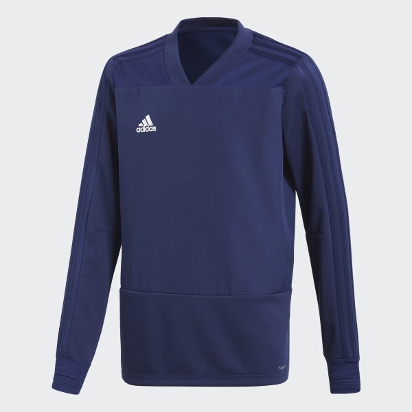 Condivo 18 Player Focus Training Top Blue CG0393