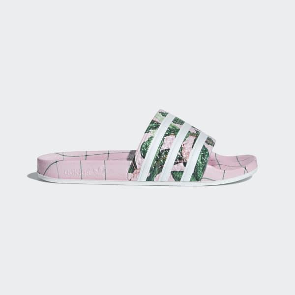 Adilette Slippers roze B28006