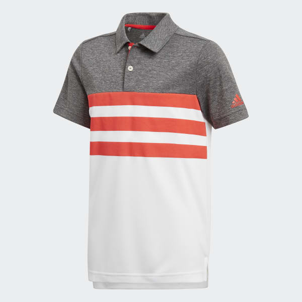 3-Stripes Polo Shirt Red CD9972