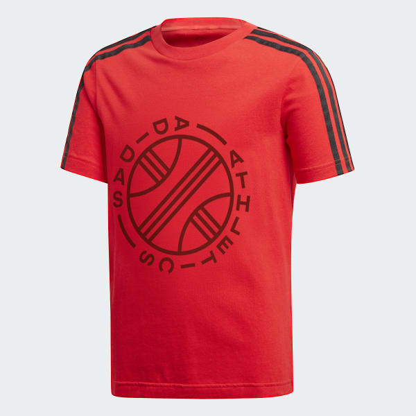 ID Graphic T-Shirt rot DJ1637