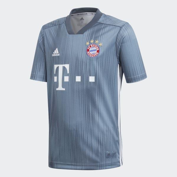 FC Bayern Third Jersey Youth Blue DP5451