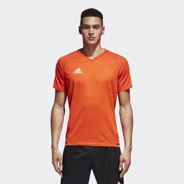 Tiro17 Training Voetbalshirt oranje BQ2809