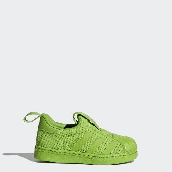 Superstar 360 Supercolor Shoes Green BZ0553