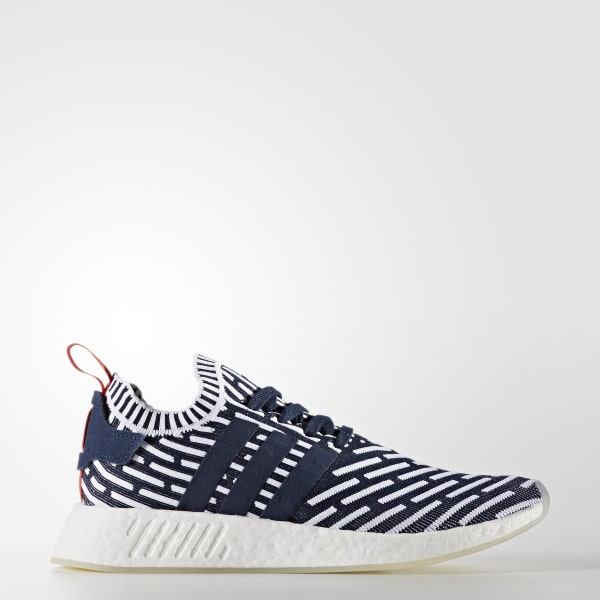 NMD_R2 Primeknit Shoes Blue BB2909
