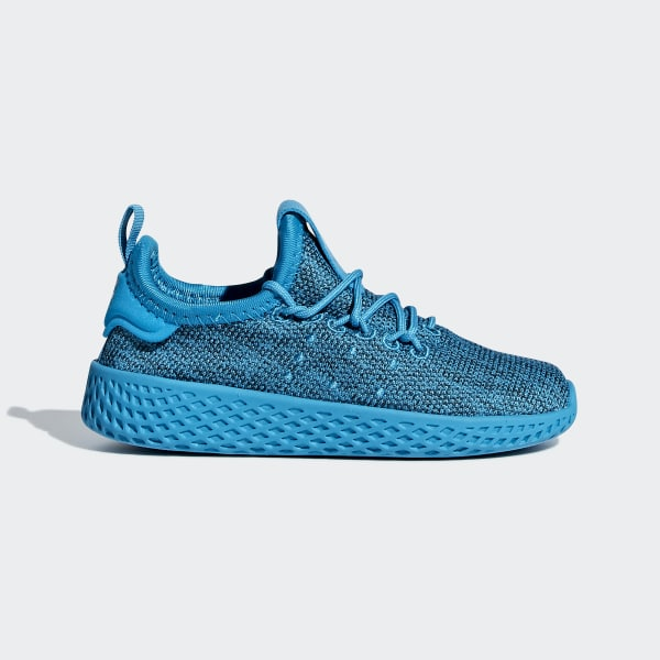 Pharrell Williams Tennis HU Schuh blau B41978