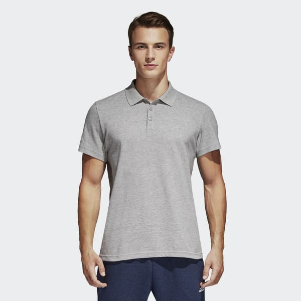 Essentials Basic Poloshirt grau S98750