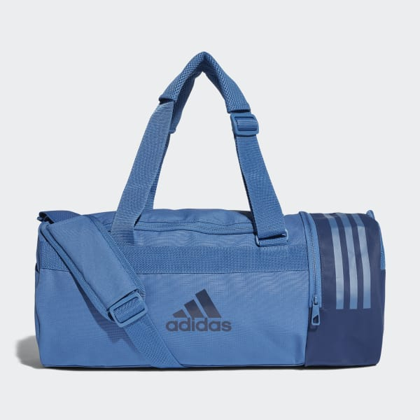 Borsone Convertible 3-Stripes Small Blu CF3294