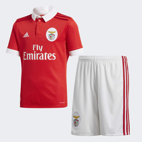 Mini Kit Home Benfica Rosso BR4762