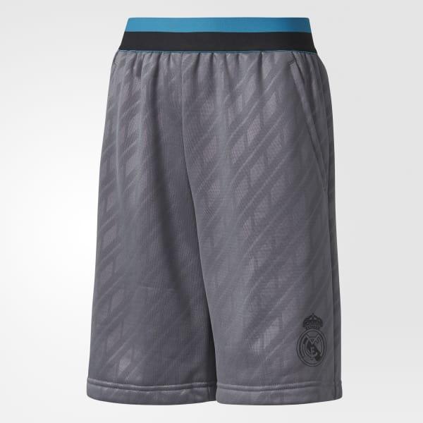 Real Madrid Shorts grau CE8955