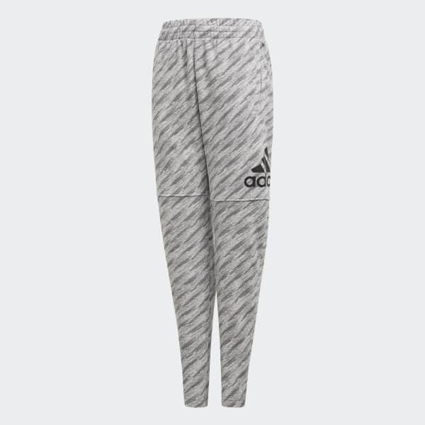 Pantalon Essentials Logo gris CF6542