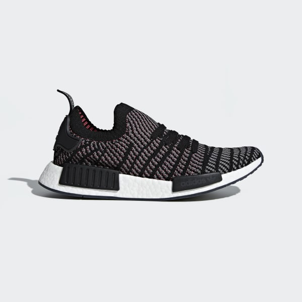 NMD_R1 STLT Primeknit Shoes Black CQ2386
