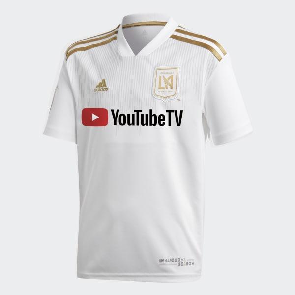 Los Angeles Football Club Away Replica Jersey White CE3279