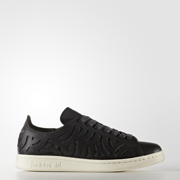 Stan Smith Cutout Shoes Black BY2976
