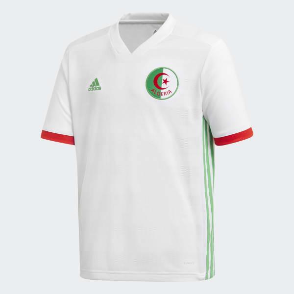 Camiseta primera equipación Argelia Blanco BQ4516