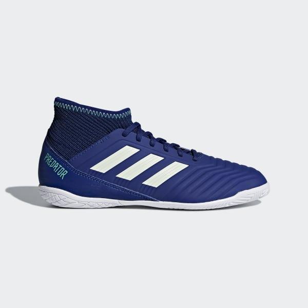 Scarpe da calcio Predator Tango 18.3 Indoor Blu CP9075