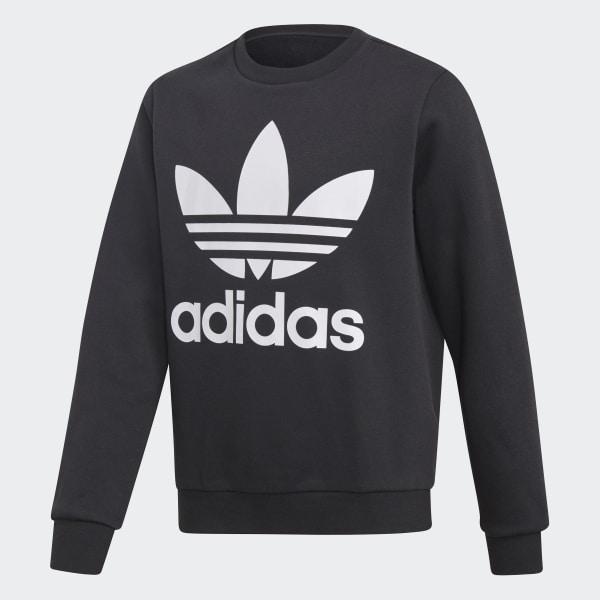 Fleece Sweatshirt schwarz DH2705