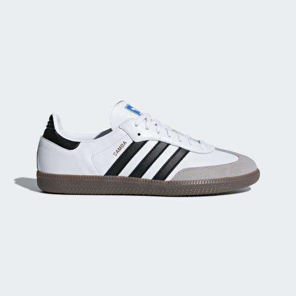 Chaussure Samba OG blanc B75806