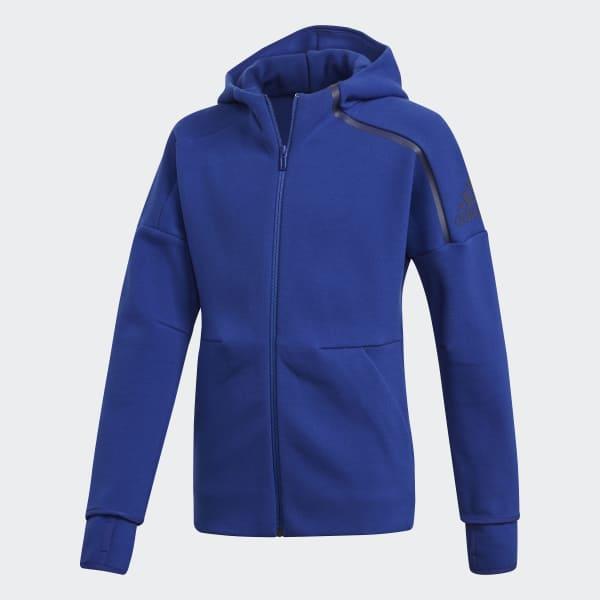 adidas Z.N.E. 2.0 Hoodie blau DJ1387