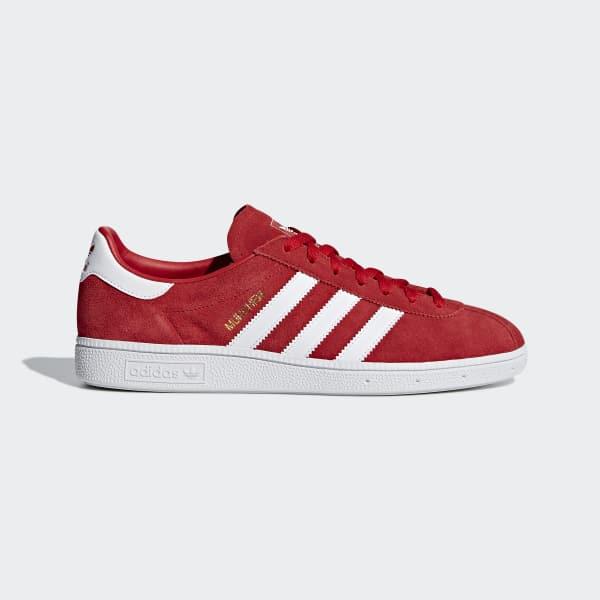 Chaussure München rouge B96497