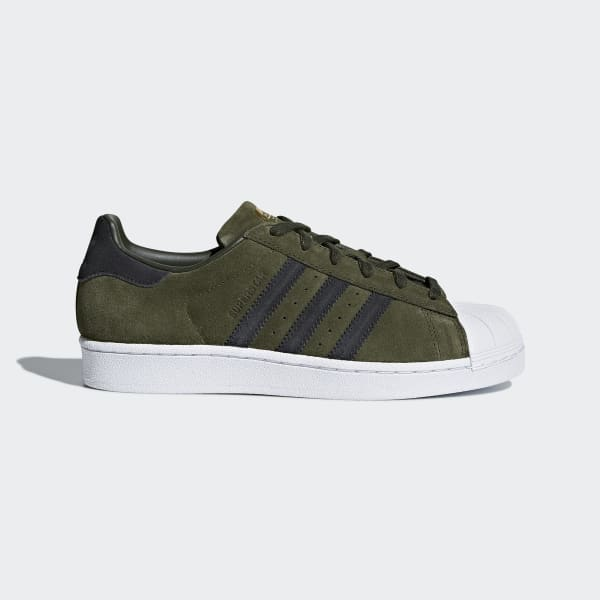 Superstar Shoes Green CG5460