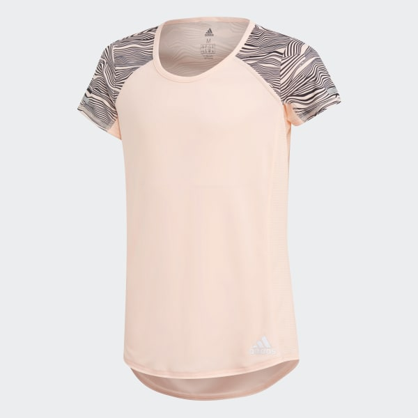 Running T-Shirt orange DJ1097