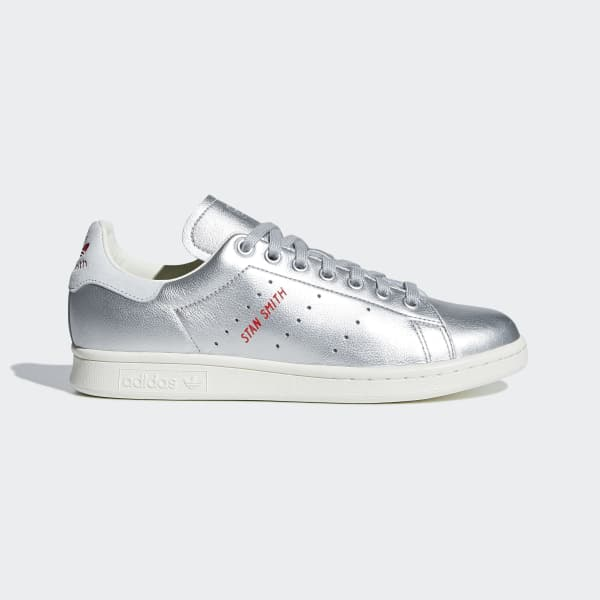 Zapatilla Stan Smith Plateado B41750