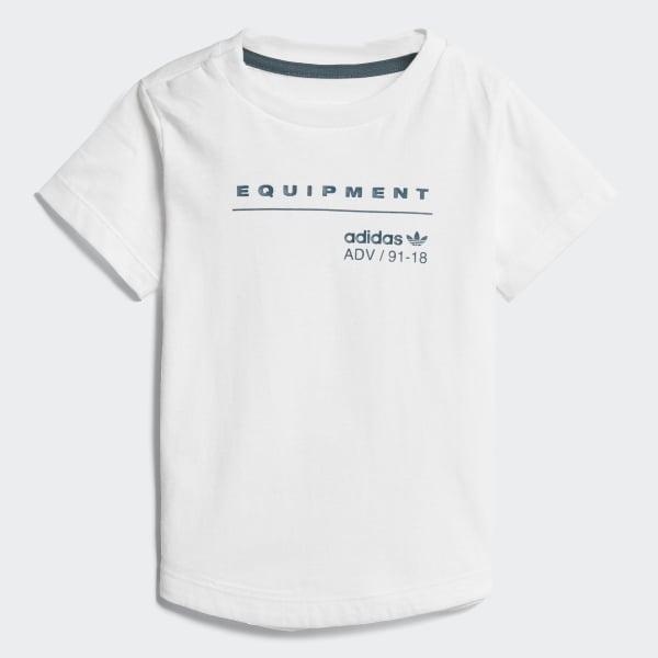Camiseta EQT Branco CD8032