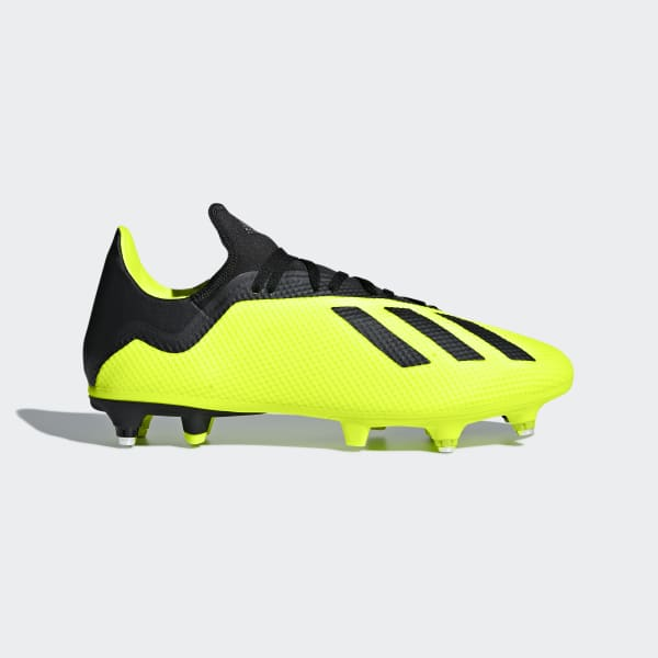 X 18.3 Soft Ground Boots Yellow AQ0710
