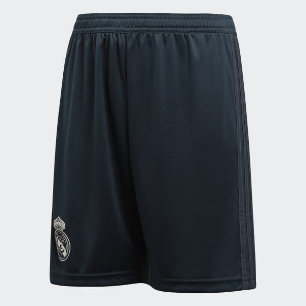 Real Madrid Away Shorts Grey CG0537