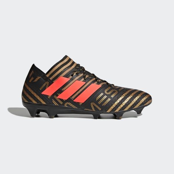 Scarpe da calcio Nemeziz Messi 17.1 Firm Ground Nero BB6351