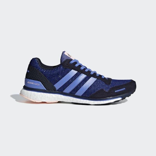 Adizero Adios 3-schoenen blauw CM8362