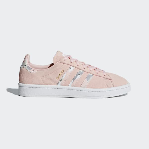 Tenis Campus ICEY PINK F17/CLEAR BROWN/FTWR WHITE B37940