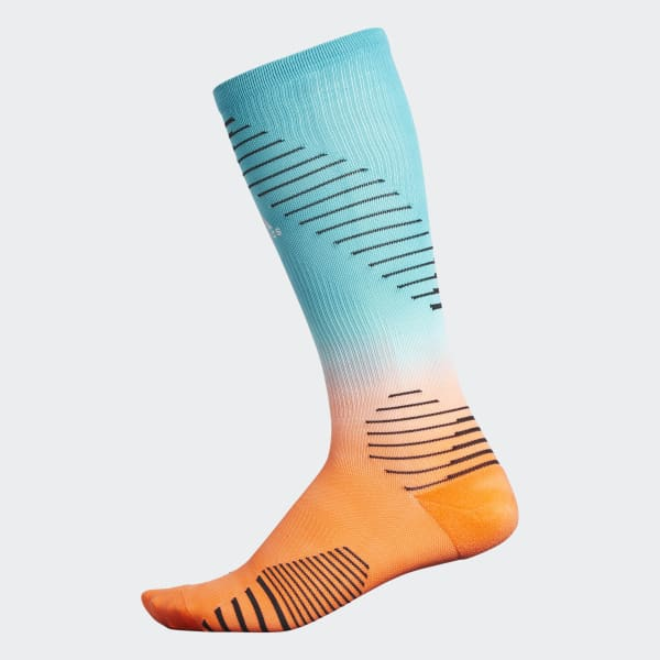 Running Dip-Dye Over-The-Calf Socks Multicolor CK1792
